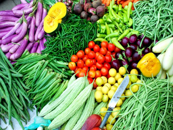Vegetables prices have risen by Many times