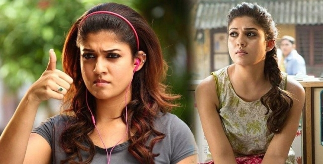 nayanthara on the show in colours tamil