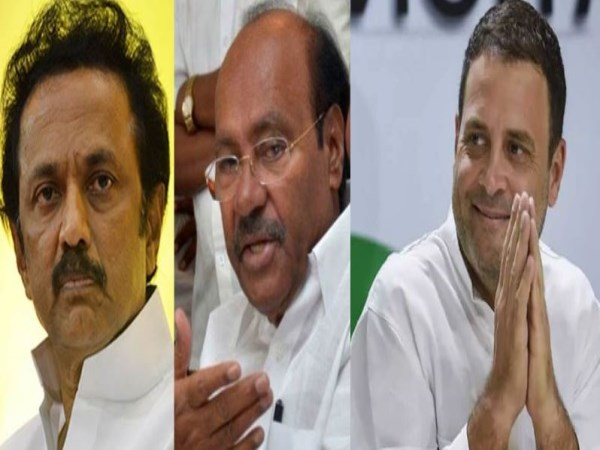 congress want dmk allotted to pmk seats