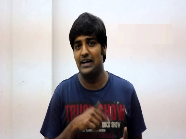 actor sathish twitter video