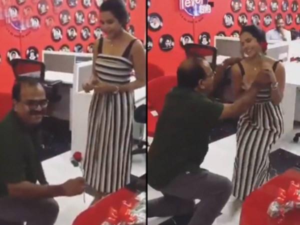 nanjil sampath love propose to actress priya anand