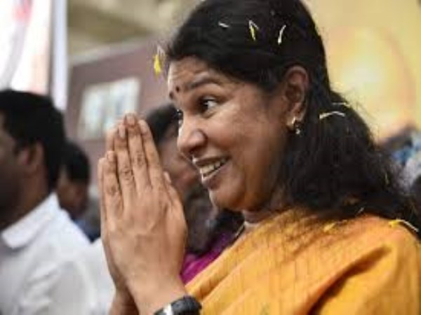 Kanimozhi says stalin became cm of tamilnadu