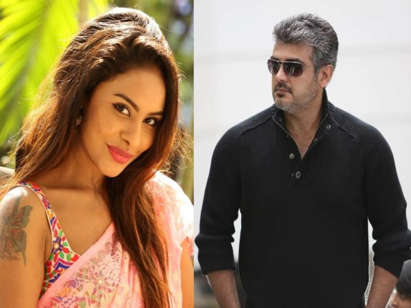 sri reddy talk about ajith