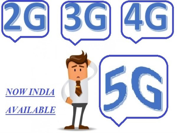 A 5G NETWORK IN INDIA ANNOUNCED