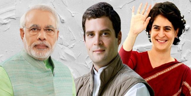 priyanka Gandhi election entry in ameti