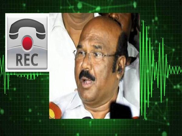 yn minister jeyakumar open talk about audio issue