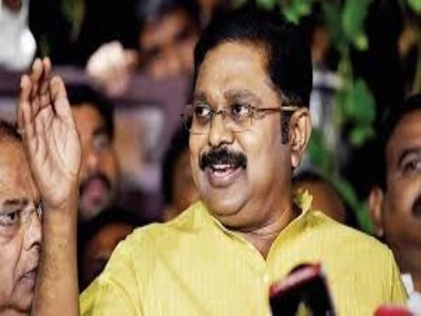 ttv dinakaran wrote letter about senthil balaji issue