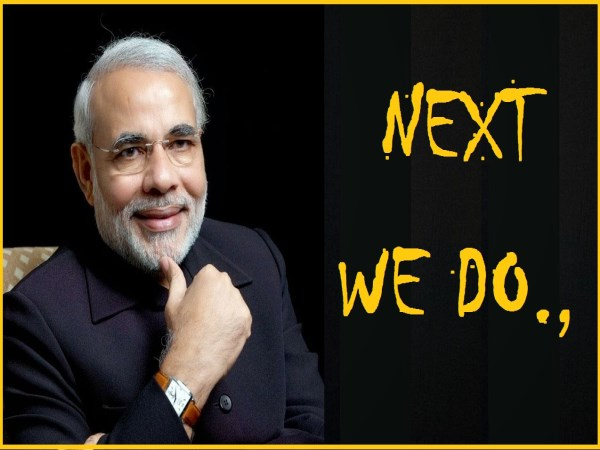 modi twit about 5 state election result