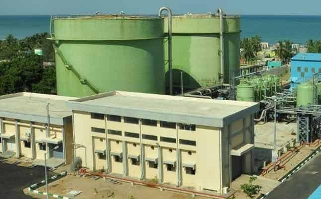 Image result for கடல்நீரைக் குடிநீராக்கும் நிலையம்