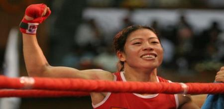 Asian Boxing Tournament mary kom on final