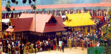 Tension in Sabarimala again! Try to go into the temple of the girl