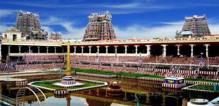 the new project in madurai meenaksi amman temple