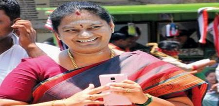 problem in sasikala pushpa marriage