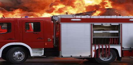 fire accident in plastic company