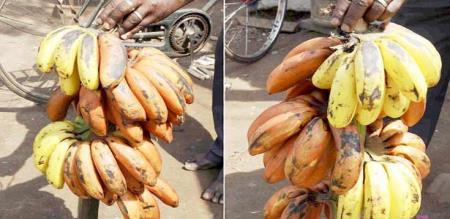 banana chemical spray