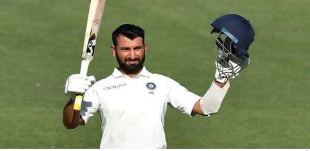 This is one of my best games! Pujara is proud of