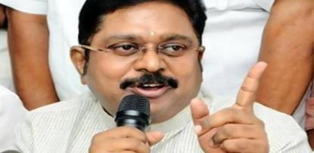 TTV Dinakaran New Announcement . Pukazenthi is nowParliamentary constituency