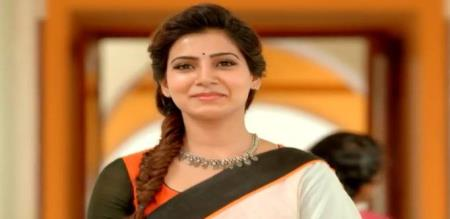 actress samantha relax in movies