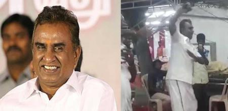 Tamil Nadu Minister SP Velumani Dances