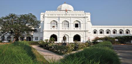 Cave in Rani Mangammal Palace