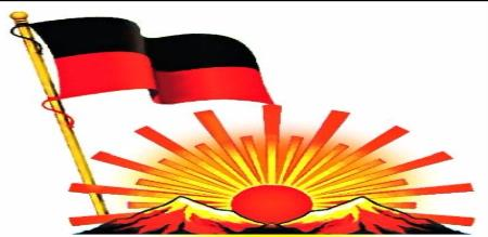 stopped marreige by dmk flag