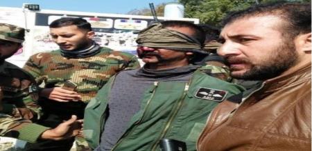 tamilanadu army man arrested by pakistan