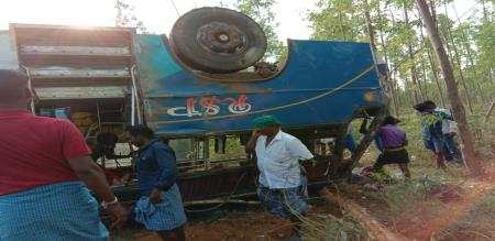 suddenly accident 50 passengers injured