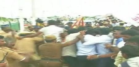 ManonmaniamSundaranar College Strike