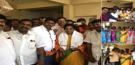 Tamilisai soundararajan got wishes from politicians