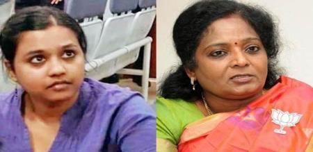 tamilisai vs sofia case