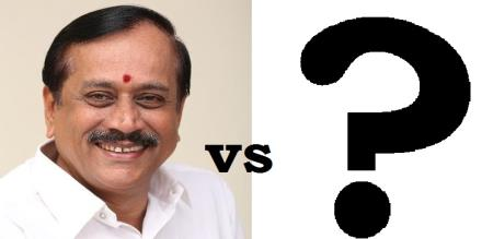 Who will competitive against h.raja in sivagangai