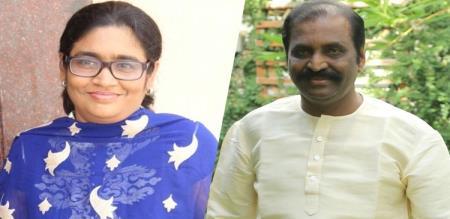 ar rahuman sister talk about vairamuthu