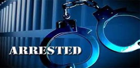 father and son arrested by police
