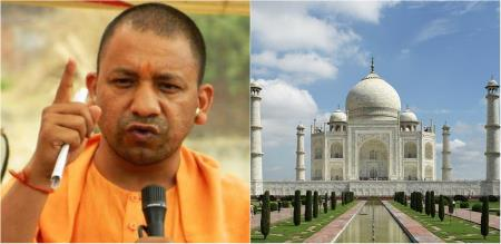 tajmahal issue and UP government
