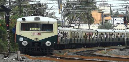 train accident in chennai two people death