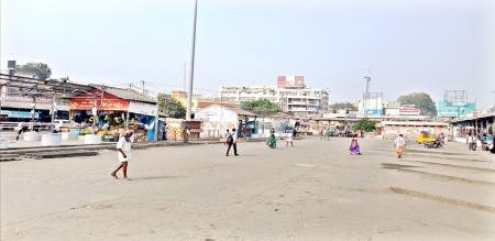 nellai bus stand without any persons