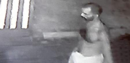 man nude dance and killed church security