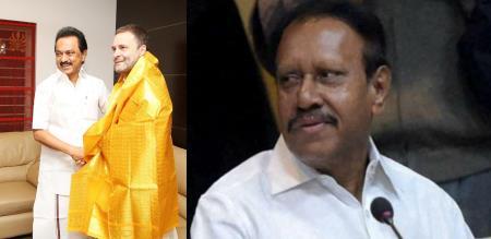 thambidurai said stalin should not talk about meketatu