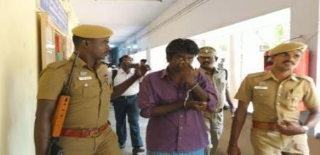 dmk member arrest for beat a woman police
