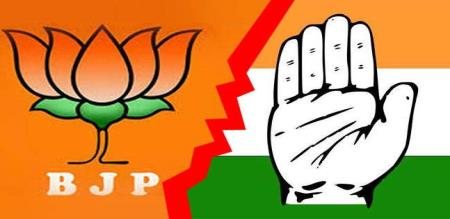 bjp growth by congress party in karnadaga