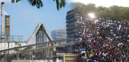 45000 PEOPLE SIGN TO AGAIN OPEN STERLITE