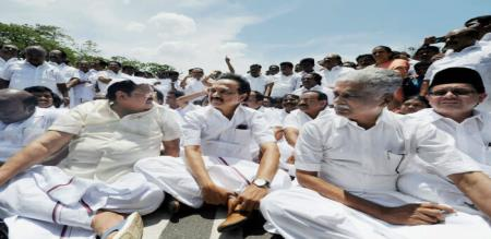 DMK WRITE TO LETTER ELECTION COMMISSION