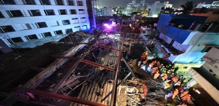Chennai building accident tn cm new order
