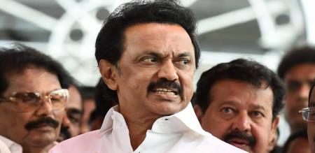 dmk leader stalin local speech