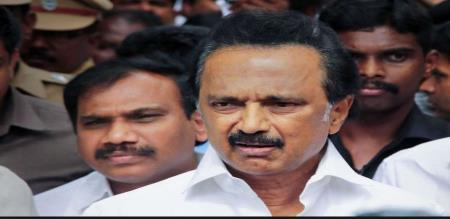 mk stalin two faces in every issue
