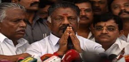 who is the karuthu kandasamy said by ops