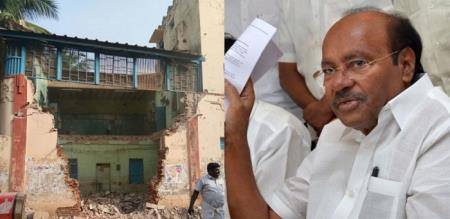 dr ramadoss statement about tnstc building collapse