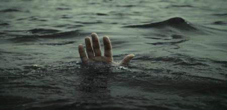 man died in water when path in dam