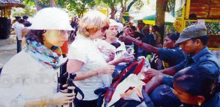 55 Chek country people visiting in Sadhuragiri hill
