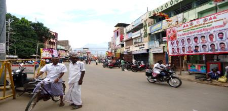 bundh in Theni District